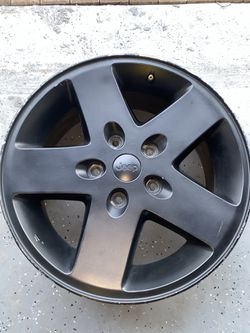 Black OEM Jeep Wheels (Set of 5) for Sale in West Palm Beach,  FL