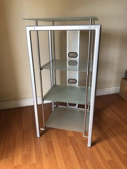 Accent Media Frosted Glass Shelving for Sale in Miami, FL