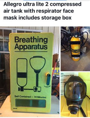 Self-contained breathing apparatus for Sale in West Monroe, LA