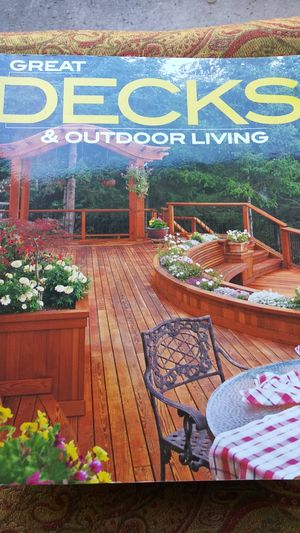 Book about decks and out door living for Sale in Clermont, FL