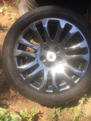 Cadillac rims on Michelin Tires 80% Tread Left for Sale in Los Angeles, CA