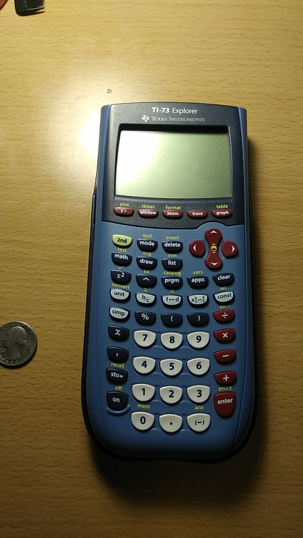 TI-73 Explorer Scientific and Graphing Calculator