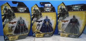 2013 Mattel Toy R Us exclusive Dark Knight Trilogy Lot of 3 for Sale in Pawtucket, RI