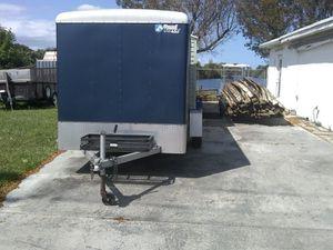Wells Cargo work trailer 6 by 12 single axle great shape for Sale in Pompano Beach, FL