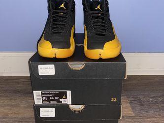 Jordan 12 'Uni Gold' for Sale in Raleigh,  NC