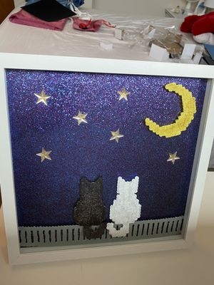 Sailor Moon Cats Shadowbox for Sale in Sunnyvale, CA