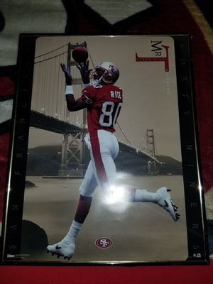 Jerry Rice poster for Sale in San Jose, CA