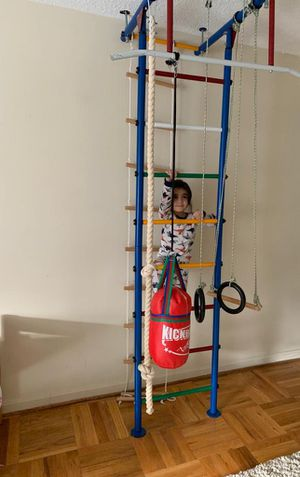 Childrens Indoor Home Gym (Swedish Wall) 6 in one for Sale in Washington, DC