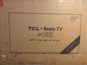 TCL Smart TV•ROKU TV•4K for Sale in Redlands, CA