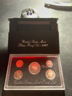 United States mint silver proof set - 1997 for Sale in Centreville, VA