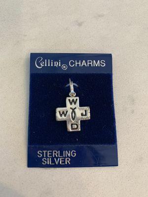 WWJD Ichthus Cross Charm for Sale in Denver, CO