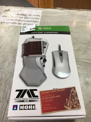 HORI Xbox One mouse and keyboard for Sale in Lynnwood, WA