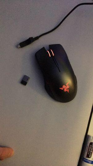 Wireless gaming mouse: razer lancehead for Sale in Alexandria, VA
