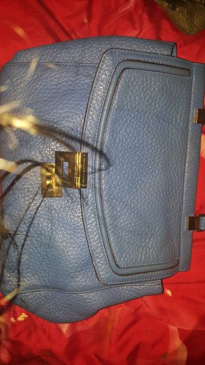 Kate Spade blue leather bag for sale for Sale in Houston, TX