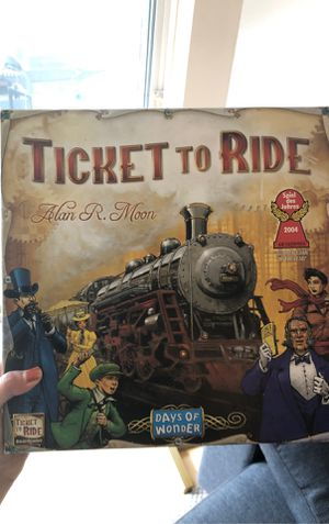 Ticket to ride for Sale in Seattle, WA