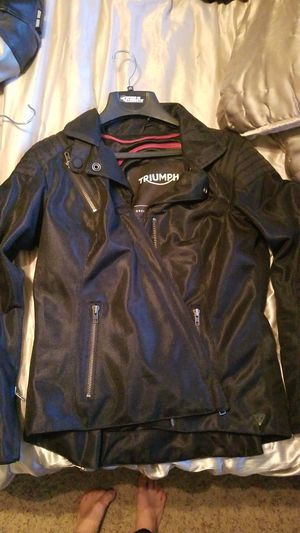 Triumph lara mesh women's motorcycle jacket for Sale in Guadalupe, AZ