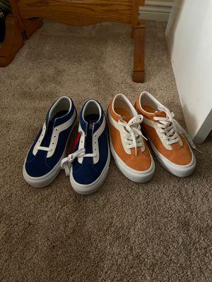 Vans blue and orange bold ni old Skool for Sale in Riverside, CA