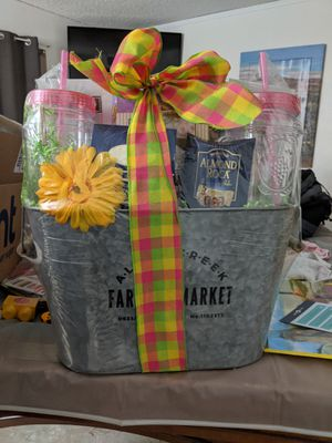Gift basket Easter Mother's Day for Sale in Hemet, CA