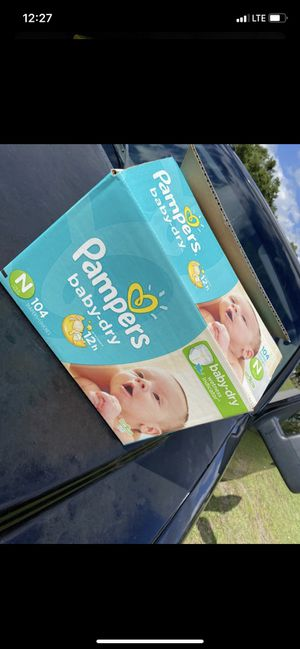 Newborn diapers for Sale in Kissimmee, FL
