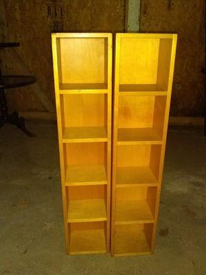 Twin Rectangular Storage Shelves for Sale in Richmond, VA