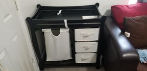 Sleigh style changing table for Sale in Houston, TX