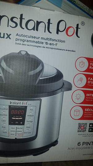 Instant pot for Sale in Milford, DE