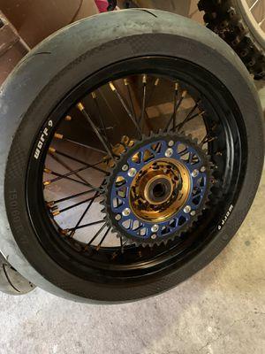 Warp 9 super moto wheels for Sale in Wayne, PA