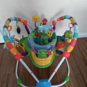 Like New Baby Einstein Jumperoo With Music And Lights (Price Firm!!) for Sale in Riverside, CA