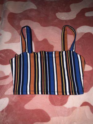 striped crop top cami, Forever 21 for Sale in Tamarac, FL