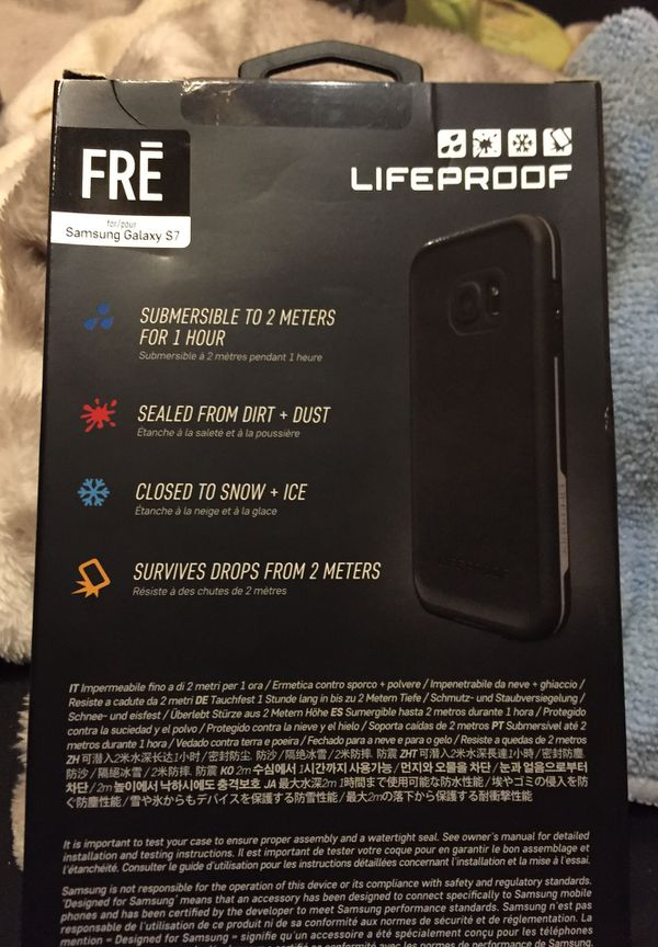 Samsung Galaxy S 7 life proof protective case new in box