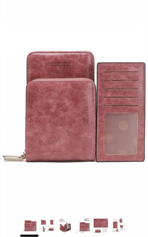 Crossbody Phone Bag for Women, Small Shoulder Handbags Cellphone Wallet Purse with Credit Card Slots for Sale in Powell, OH