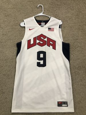 Nike Dwyane Wade USA mens jersey size SMALL for Sale in Los Angeles, CA