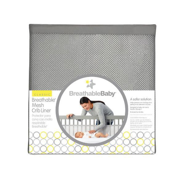 BreathableBaby Classic Breathable Mesh Crib Liners