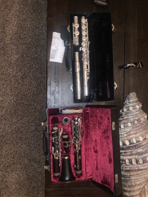Clarinet and flute for Sale in Chandler, AZ