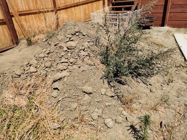 Free dirt!
