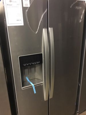 New Whirlpool XL Capacity Stainless Steel Refrigerator !! for Sale in Gilbert, AZ