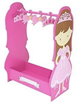 Princess Dress Up Clothes Hanger Closet for Sale in Hudson, OH
