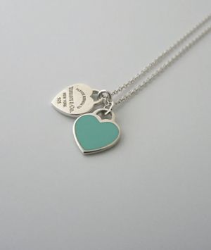 Authentic Tiffany and co mini double heart necklace for Sale in Hacienda Heights, CA