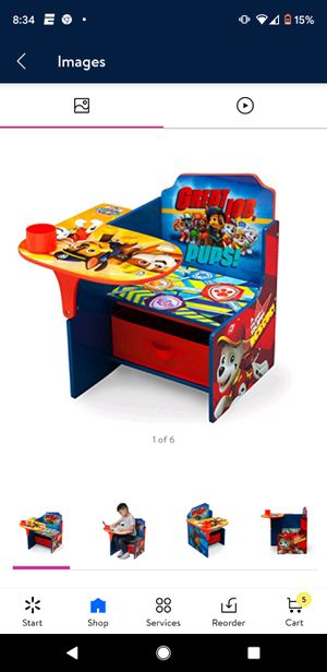 Paw Patrol Chair Desk - Never opened - Still In Box $40 firm for Sale in Naugatuck, CT