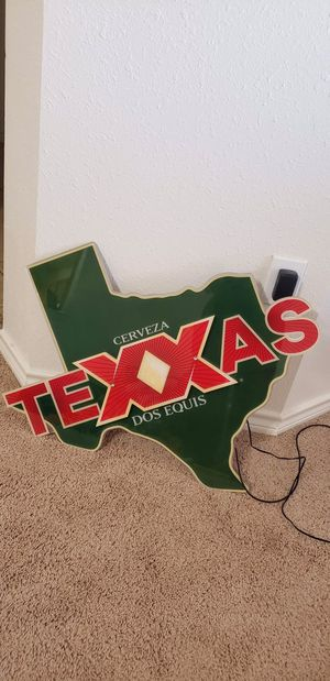 Lighted Dos XX Beer Sign for Sale in Lubbock, TX