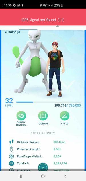 Pokemon go account level 32 with 570k stardust for Sale in Orange, CA