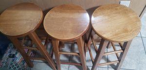 3 stools for Sale in Yuma, AZ