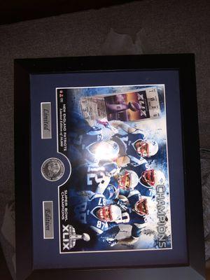 Super Bowl patriots plaque for Sale in Hingham, MA