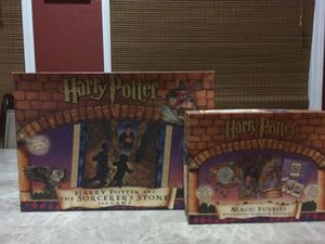 Set of two Harry Potter board games puzzles for Sale in Lake Ozark, MO