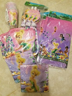 Tinkerbell party supplies for Sale in Seattle, WA