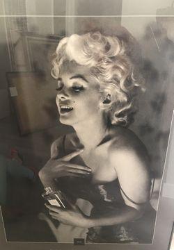Marilyn Monroe glass frame for Sale in Darrington,  WA