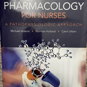 Pharmacology For Nurses for Sale in Easton, CT