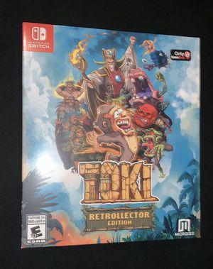 Toki Retrollector Edition Nintendo Switch. for Sale in Lone Oak, TX