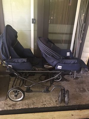 Old (Antique) dual/twins baby stroller for Sale in Nashville, TN