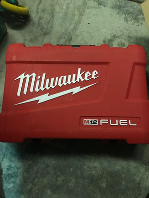 Milwaukee empty tool box for m12 drill and driver combo. for Sale in Universal City, CA